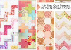 Free Quilt Patterns, Free Easy Quilt Patterns Perfect for Beginners