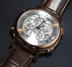 Breguet Classique La Musicale 7800 Alarm Watch: Plays Bach