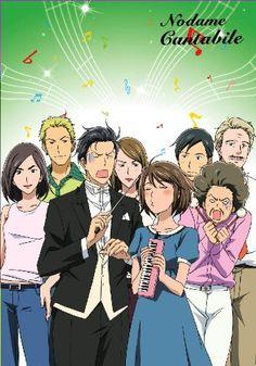 Nodame Cantabile.. also had a live-action tv series and movie..  College, Comedy, Coming of Age, #Josei, Manga, Music, Romance, School Life, Slapstick, #SuddenGirlfriendAppearance