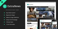 ExtraNews v1.5.9 – Responsive News and Magazine Theme