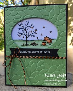 Canopy Crafts: It's a Charlie Brown Halloween PP316 - SU - Happy Scenes (retired set)