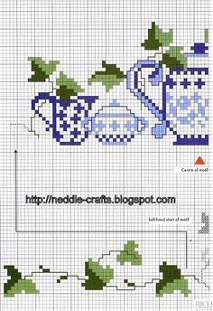 باترونات ايتامين جديده- new cross stitch patterns ~ شغل ابره NEEDLE CRAFTS