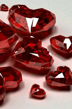 Ruby Gemstones Ruby hearts ♥♥♥♥ ❤ ❥❤ ❥❤ ❥♥♥♥♥ Do you like gemstone? Ruby Gemstones Flawed diamonds reveal the Wallpaper Iphone5, Lizzie Hearts, Red Hearts, Cool Winter, Simply Red, I Love Heart, Lesage, Valentine's Day, Red Aesthetic