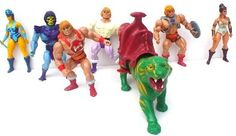 Loved my He-Man action figures!