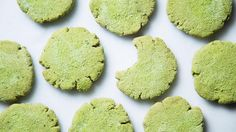 Matcha Gingerbread Cookies #angelsfoodparadise