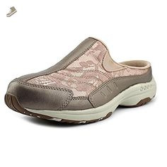 Easy Spirit Traveltime Women US 6 WW Pink Mules - Easy spirit mules and clogs for women (*Amazon Partner-Link)
