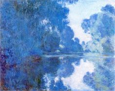 Morning on the Seine - Claude Monet - 1897