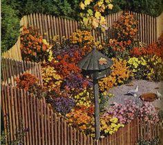 Una propuesta muy colorida. Fuente: Pratt, R.; Steichen, E.  Garden in color.  New York: Garden City Publishing, [1944]