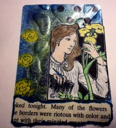 Crafting The Frugal Way: Altered Playing Cards Week 21