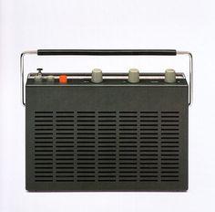 Dieter Rams, T-52 Radio, for Braun, 1961
