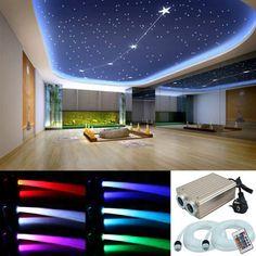 rgb led sternenhimmel 330 lichtfaser 0 75 1 1 5. Black Bedroom Furniture Sets. Home Design Ideas