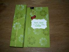 Juttas Bastelecke - das Kartenparadies: Verpackungen