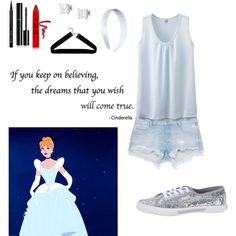 Cinderella by mysterylullaby on Polyvore featuring polyvore, fashion, style, Uniqlo, Zara, Pepe Jeans London, Tressa, Boohoo, Remington, Bobbi Brown Cosmetics, Chanel and tarte