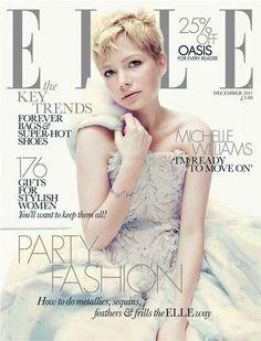 The Elle UK December 2011 Shoot Gets Michelle Williams Glamored Up #fashion trendhunter.com
