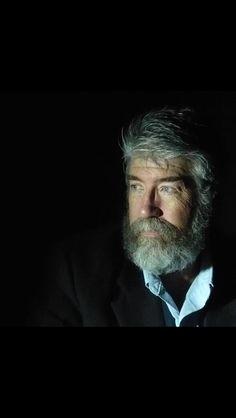 Portrait of Bearded Man in Dramatic true light Sheldon Padelio