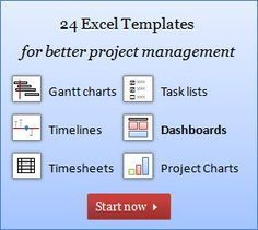 The Gantt Charts are worth the visit. Excel Project Management - Free Templates, Resources, & Information Project Management Free, Change Management, Business Management, Management Tips, Office Management, Technology Management, Dashboard Design, Project Dashboard, Dashboard Template