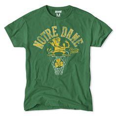 Notre Dame Irish Hoops Tee