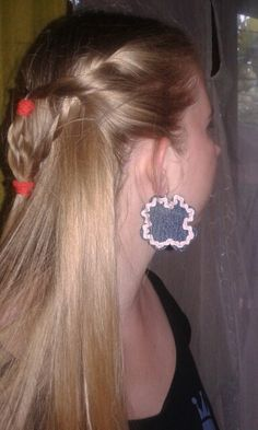 Farmer fülbevalo Farmer, Earrings, Jewelry, Ear Rings, Jewlery, Jewels, Jewerly, Jewelery, Beaded Earrings Native