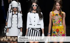 Moschino Spring 2013 collection