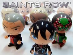 Saints Row: The Third Bobble Heads from Bobble Budds