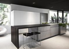 State-of-the-art kitchen design inspiration byCOCOON.com #COCOON Dutch designer brand for Contemporary Minimalist Modern Luxury Design Bathrooms & Kitchens to live in &.. COCOON!