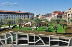 Jardim das Oliveiras, Praça de Lisboa, Porto