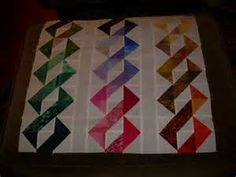Great layout for half square triangles | Quilting | Pinterest