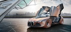 Slideshow : Driverless concept car, a look at the BMW Vision Next 100 - Driverless concept car, a look at the BMW Vision Next 100 - The Economic Times Future Vision, Future Car, Innovation, Las Vegas, Bmw Design, Flying Car, Bmw S, Brand Building, 3d Building