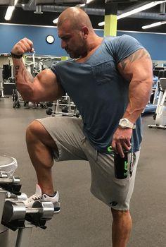 Palestinian bodybuilder David Murad