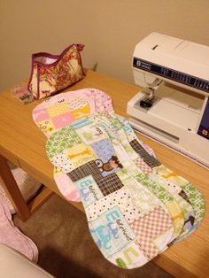 Love Is Multiplied: Baby Burp Cloths: How To make them with a link to a pattern