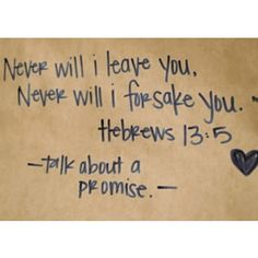 Talk about a promise!