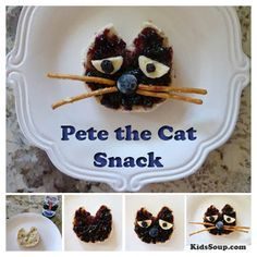 Making snacks related to books read during story time provides opportunities for your preschool and Kindergarten Snacks, Classroom Snacks, Preschool Cooking, Preschool Snacks, Cooking With Kids, Preschool Ideas, Cooking Ideas, Food Ideas, Class Snacks