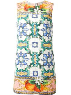 Shop Dolce & Gabbana 'Sicilia' printed dress in Smets from the world's best independent boutiques at farfetch.com. Over 1000 designers from 60 boutiques in one website.