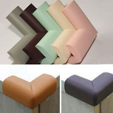 8PCs Baby House Table Edge Cushion Corner Softeners Stick-On PVC Protector Cover
