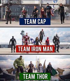 So..I think Thor's team wins