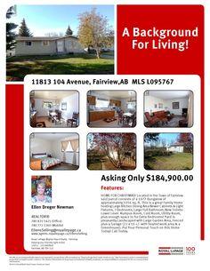 11813-104 Avenue Fairview, AB  T0H 1L0 MLS L095767