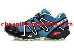 Salomon Speedcross 3 CS Navy Blue Black White