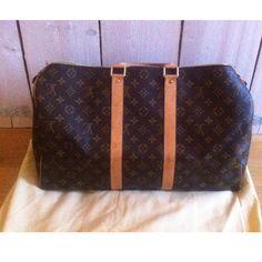 Tip: Louis Vuitton Luggage (Dark Brown) Louis Vuitton Luggage, Louis Vuitton Handbags, Louis Vuitton Monogram, Vintage Designs, Personal Style, Purses, Dark Brown, Pattern, Porn