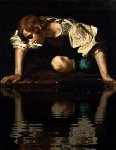 Caravaggio - Narcissus (1594-96)