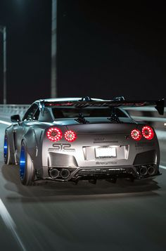 Liberty Walk R35 GT-R render