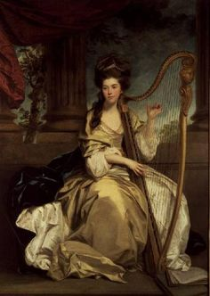 Women and Music in Painting 16-18th c, Sir Joshua Reynolds, Countess Of Eglinton,1777