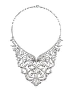 Stephen Webster Couture White Diamond Russia Collar.