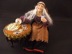 Julie Campbell Doll Artist -  unique 12th Scale  figures  created by IGMA Artisan