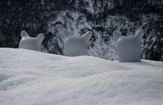 Podmork Ku in the snow. #Art #Arte