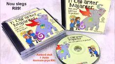 Olifanter-Majanter luister cd. #afrikaans #luisterstories #kinderpret Afrikaans, Anna