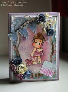 Mini album tilda prima ballerina Magnolia