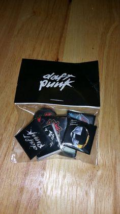 ダフト·パンク!Daft Punk — Pins!