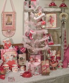 Pink Christmas @ TwoCrazyCrafters