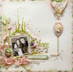 We Three **Websters Pages DT PLUS a NEW Homemade Texutre Paste Recipe!!** - Scrapbook.com
