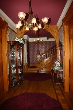 victorian homes interiors - I love the wood work, so many little details in these homes that we don't have anymore today